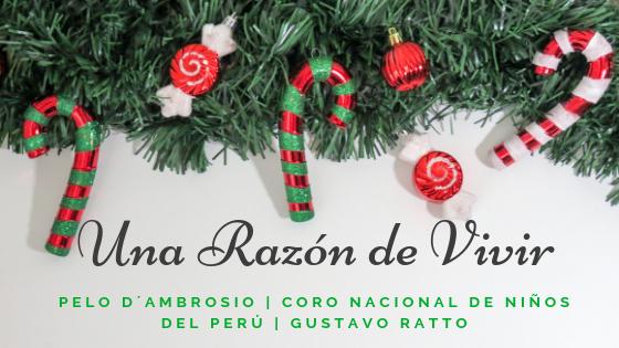 ¿Qué sucede cuando juntas las voces de Pelo D'Ambrosio, Gustavo Ratto y el Coro Nacional de Niños del Perú?