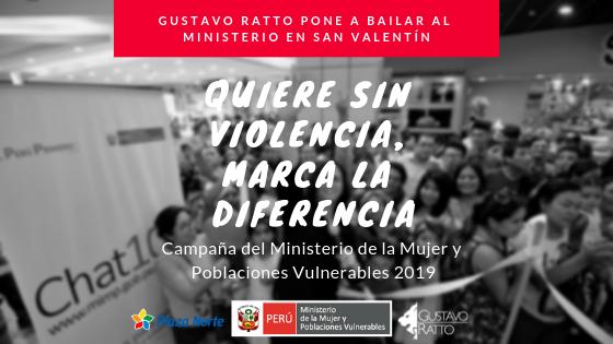 """Gustavo Ratto en """"Quiere Sin Violencia, Marca la Diferencia"""""""