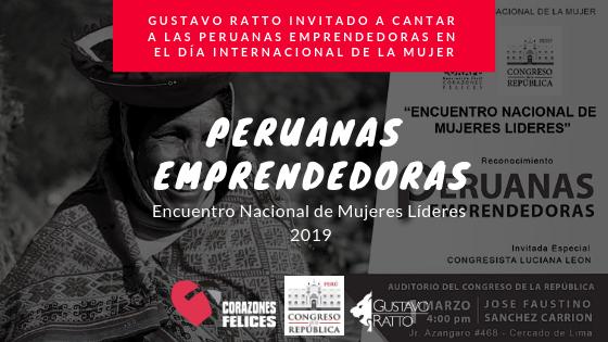 Gustavo Ratto en el Día Internacional de la Mujer
