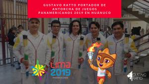 Juegos Panamericanos Lima 2019: Portador de Antorcha