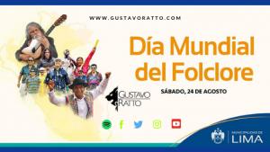 Concierto por Día Mundial del Folklore – Municipalidad de Lima