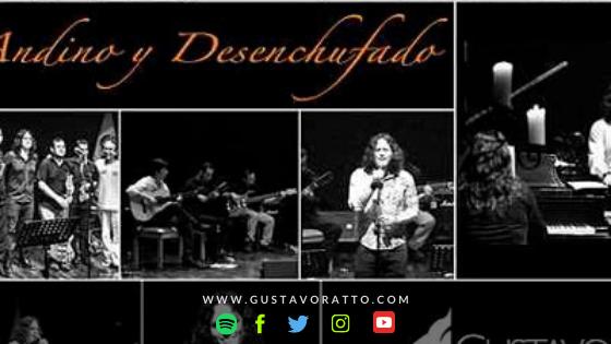 Disco acústico Andino y Desenchufado: propuesta unplugged