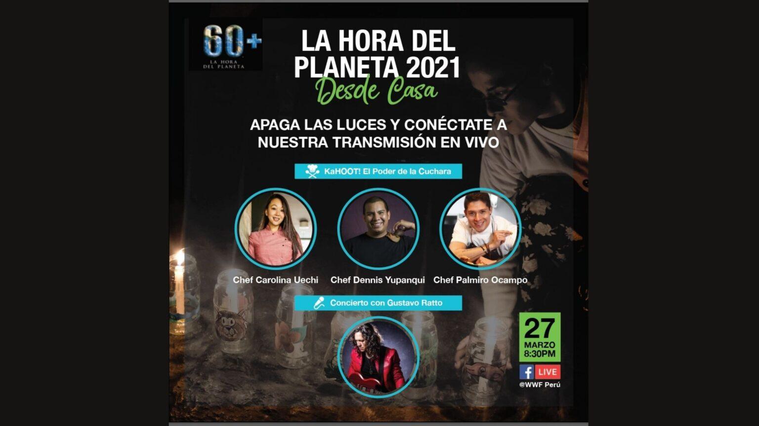 Lanzamiento Canción Oficial de La Hora del Planeta